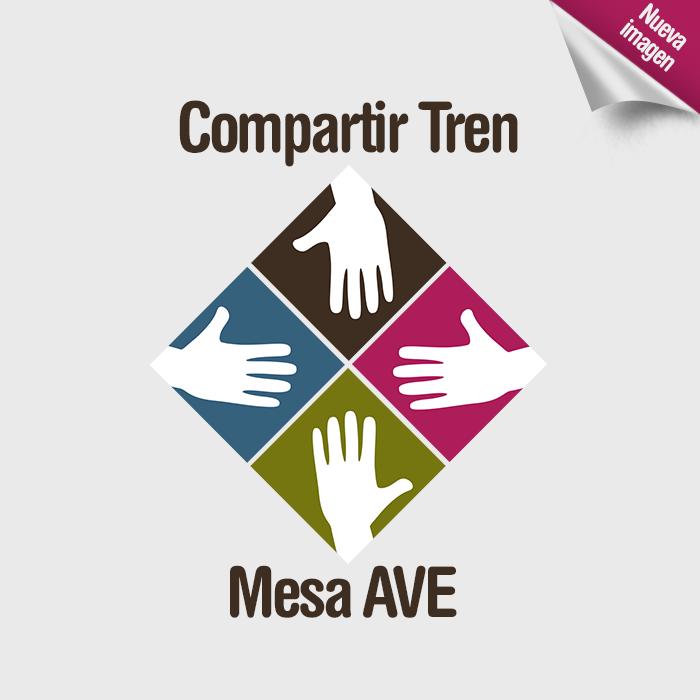 Nuevo logo de Compartir Tren Mesa Ave.