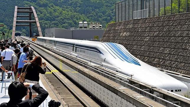 Maglev, el tren japonés más rápido del mundo.