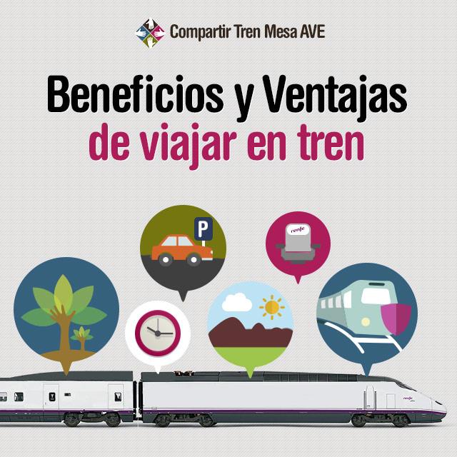 Más beneficios de compartir tren con la tarifa Mesa en el AVE.