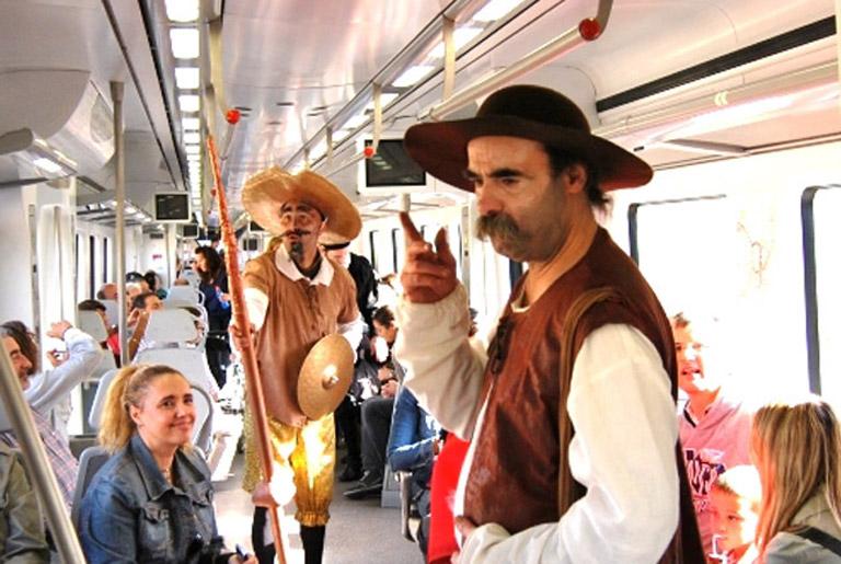 Tren de Cervantes.