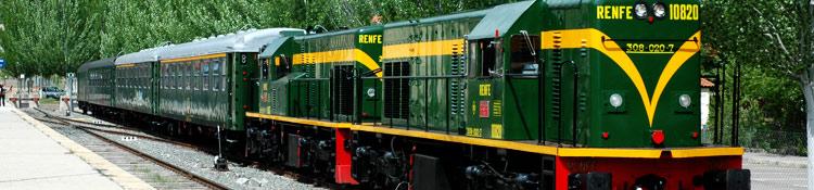 Tren histórico dels Llacs.