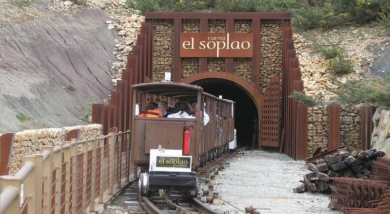 Tren turístico El Soplao.