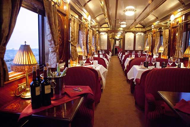 Al-Andalus tren turistico de lujo.