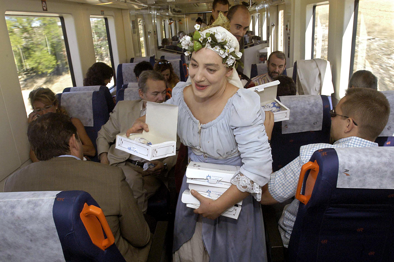tren medieval a Sigüenza.