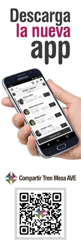 Descargar app Compartir Tren Mesa AVE en Google Play para teléfonos Android