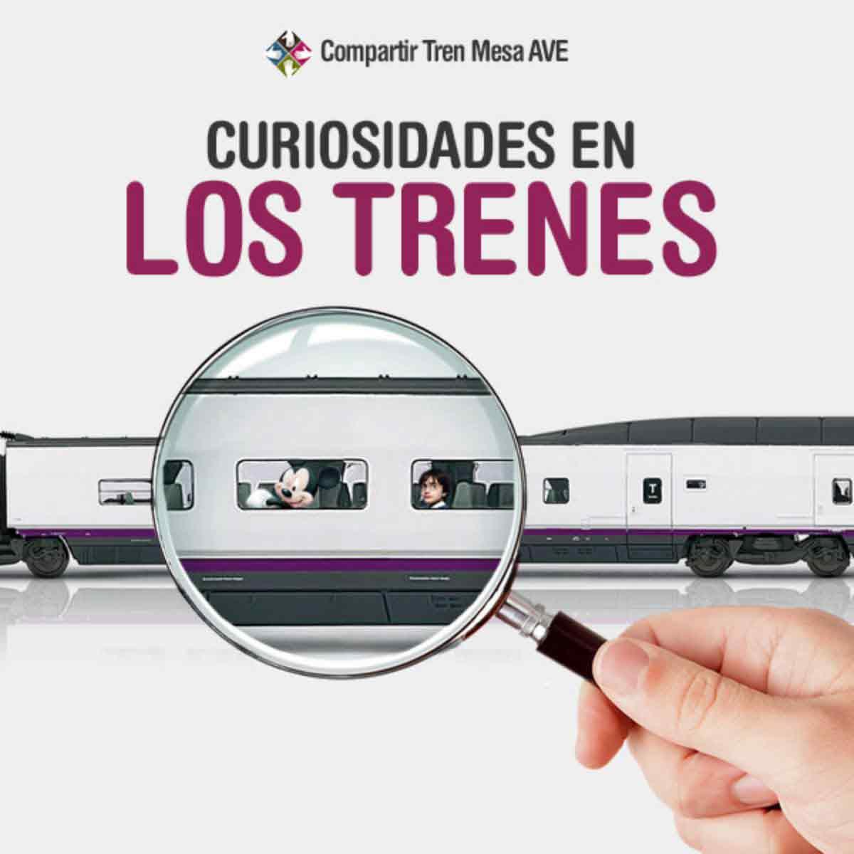 Curiosidades en los trenes for Tarifa mesa ave
