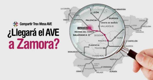 ¿Llegará el AVE-Zamora a final del año?