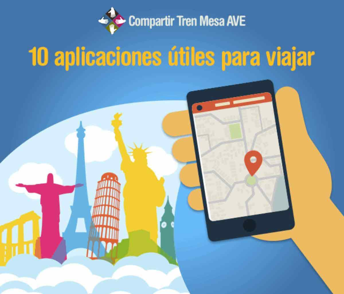 10 aplicaciones útiles para viajar