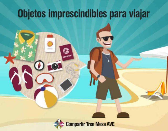 Los 10 objetos imprescindibles para viajar