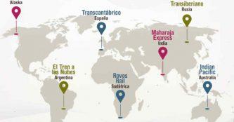 Los 10 viajes en tren más espectaculares del mundo