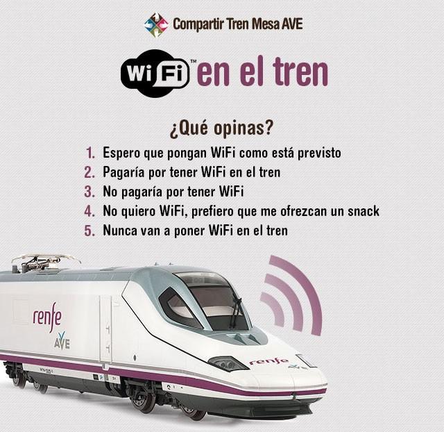 WiFi en el tren, ¿para cuándo?