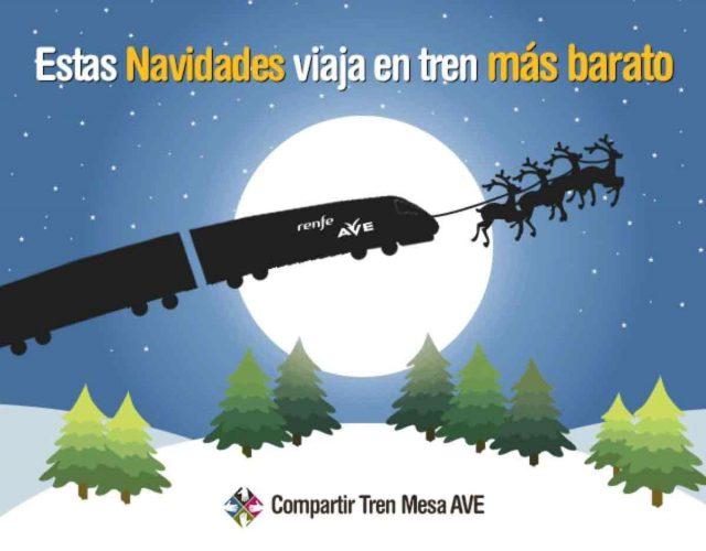 Cómo viajar en tren por España más barato estas Navidades
