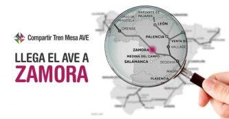 Llega la línea AVE Zamora, el nuevo destino de la Alta Velocidad