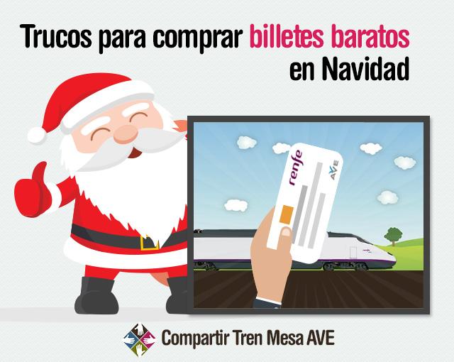 Trucos para comprar billetes de tren baratos en navidad - Billetes muy baratos ...