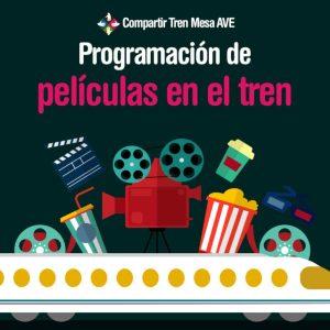 Cómo funciona la programación de películas en el tren