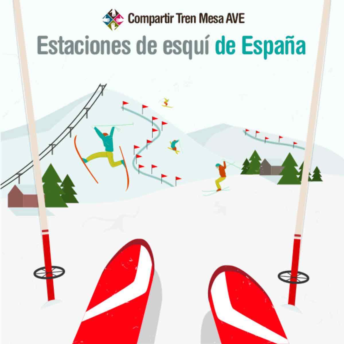 Viaja a las mejores estaciones de esquí de España