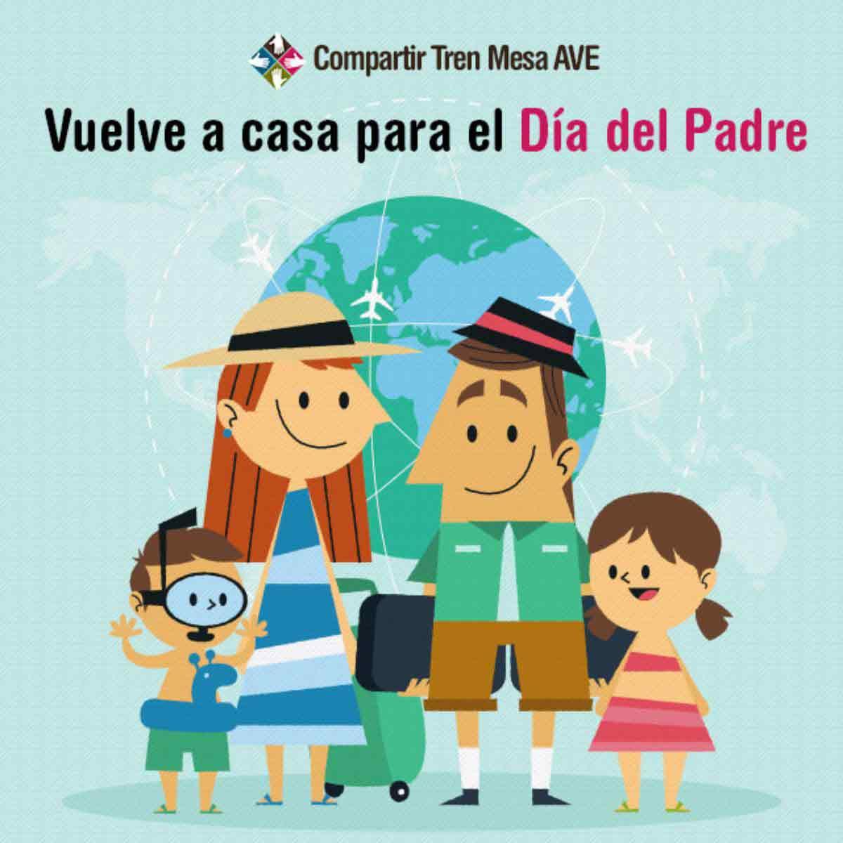 Vuelve a casa para celebrar el Día del Padre