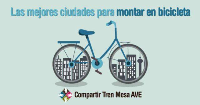 Las mejores ciudades para montar en bicicleta