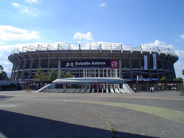 Estadio Azteca, de Ciudad de MéxicoLos, entre los mejores estadios de fútbol del mundo