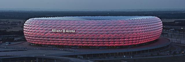El Allianz Arena, en Múnich, de los mejores estadios de fútbol del mundo