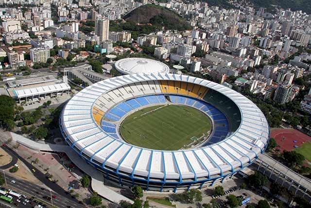 Maracaná de Brasil, en Río de Janeiro, entreo los mejores estadios de fútbol del mundo
