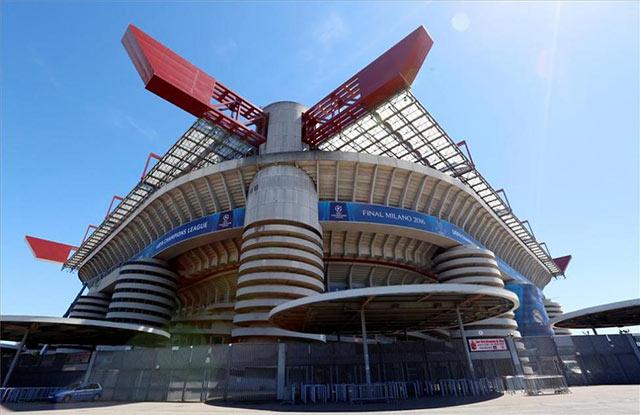 Giuseppe Meazza, en Milán, entre los 10 mejores estadios de fútbol del mundo