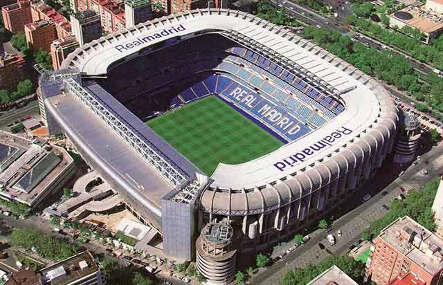 El estadio Santiago Bernabéu, en Madrid, entre los 10 mejores estadios de fútbol del mundo