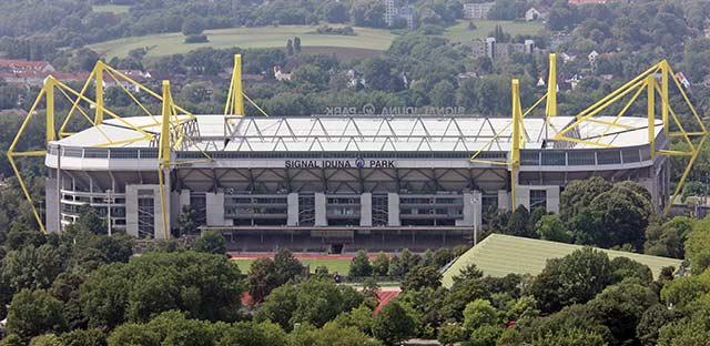 Signal Iduna Park, en Dortmund, entre los 10 mejores estadios de fútbol del mundo