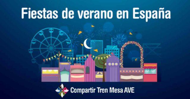 Fiestas de verano más importantes de España
