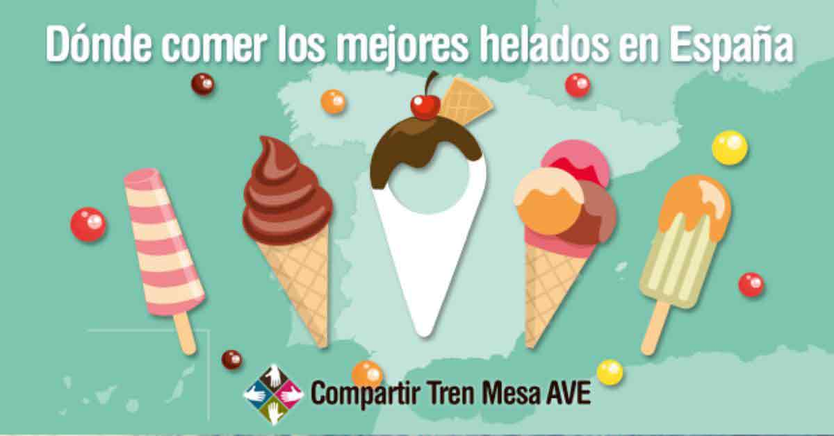 Dónde comer los mejores helados caseros en España