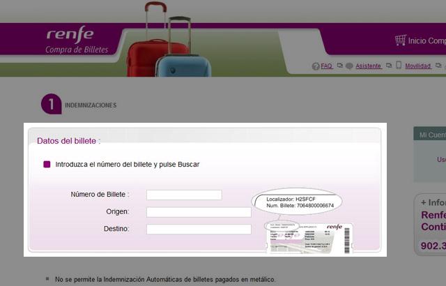 Cómo conseguir la devolución del dinero por retrasos de Renfe