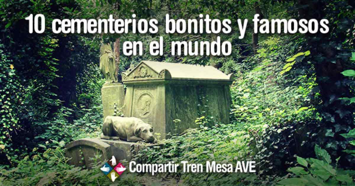 Los 10 cementerios más famosos en todo el mundo