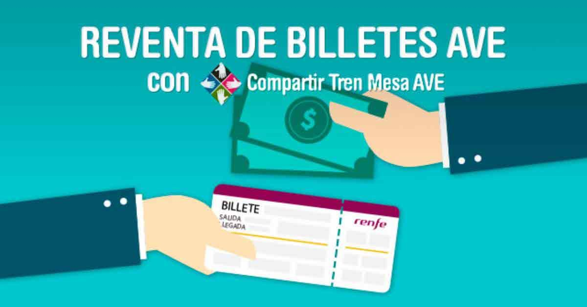 reventa billetes ave