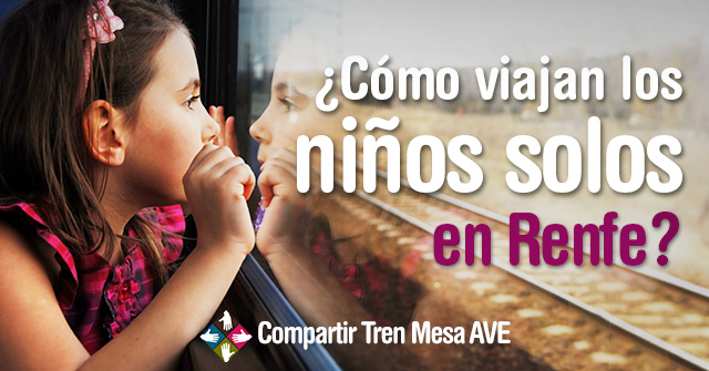 Cómo pueden viajar niños solos en Renfe