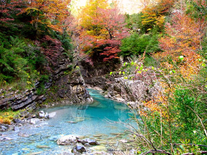 El Parque nacional de Ordesa y Monte Perdido en Huesca