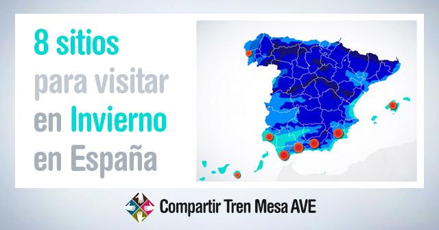 8 sitios para visitar en invierno en España