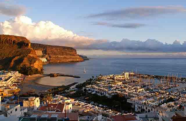 Gran Canaria para visitar en invierno en España