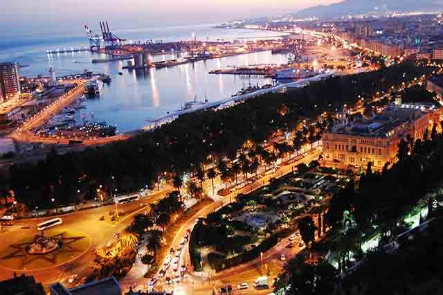 Málaga para visitar en invierno en España