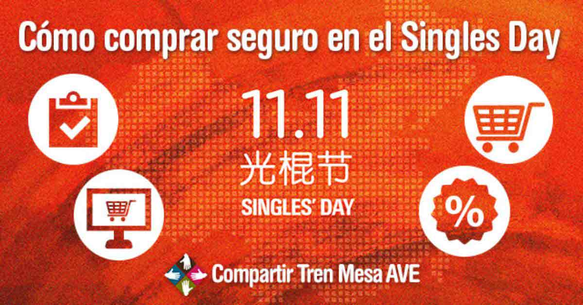 Cómo hacer compras por Internet de forma segura en el Singles Day