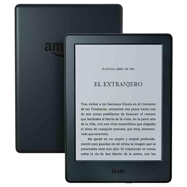 Kindle, un ebook para gente viajera que le gusta leer
