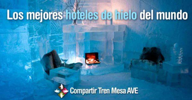 Descubre los 8 mejores hoteles de hielo en el mundo
