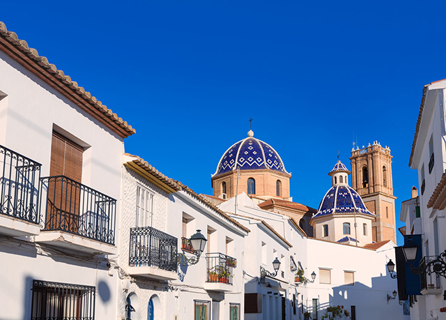 Casco antiguo Altea
