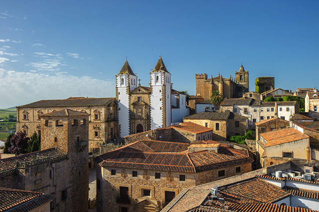 Casco antiguo Cáceres