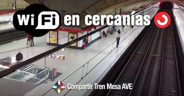 Wifi Renfe Cercanías