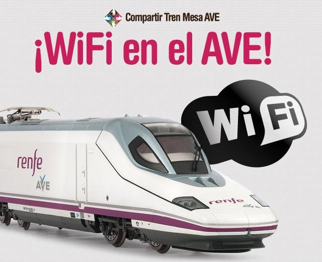Wifi en el AVE
