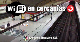 WiFi en Renfe Cercanías: cómo conectarse gratis