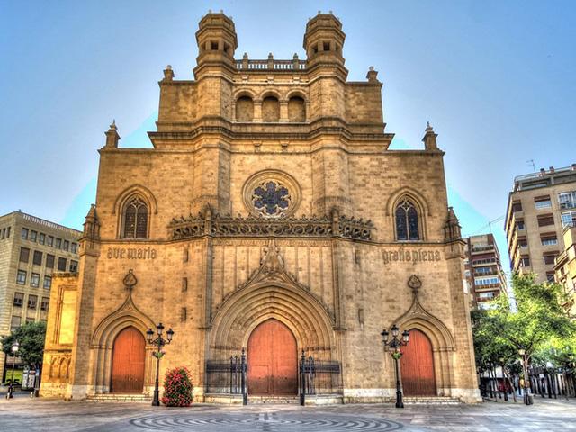 Qué ver en Castellón, la Concatedral Santa María