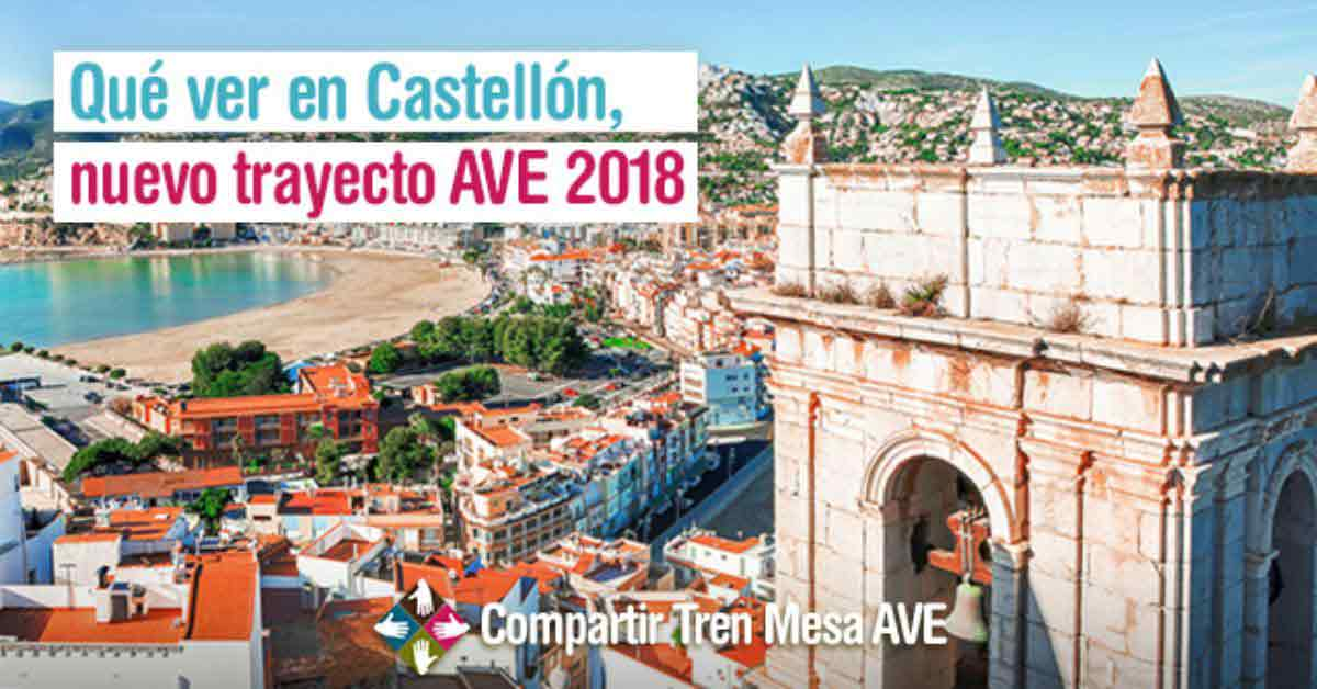 Qué ver en Castellón, nuevo destino AVE 2018