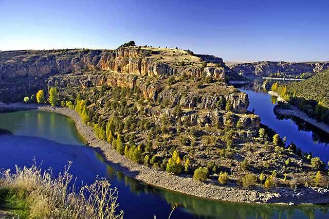 Hoces del Río Duratón, uno de los mejores parques naturales en Segovia