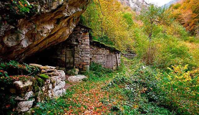 Redes, en Asturias, parque natural